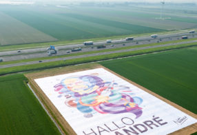 The Netherlands salutes Andre Kuipers by Samsung